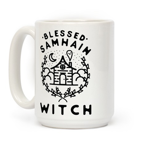 Blessed Samhain Witches Coffee Mug
