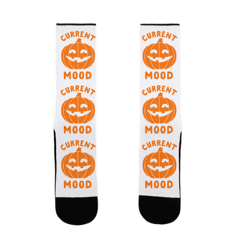Current Mood: Halloween Sock