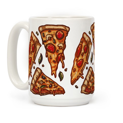 Pizzas Pattern Coffee Mug