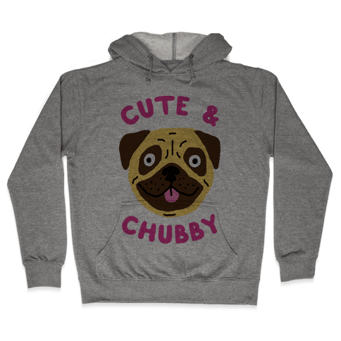 Cute And Chubby Hooded Sweatshirt