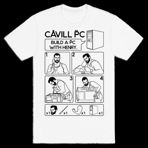 Cavill PC Parody Mens/Unisex T-Shirt