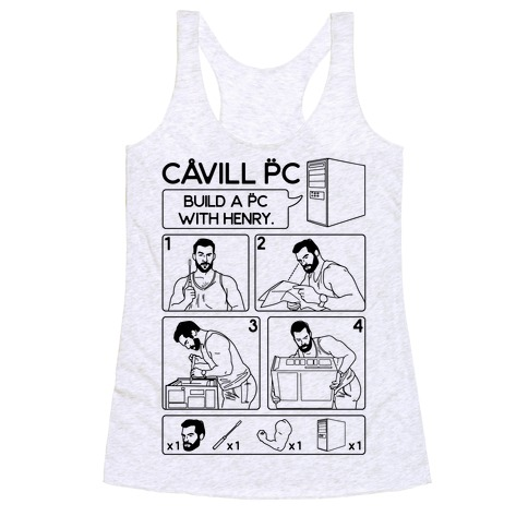 Cavill PC Parody Racerback Tank Top