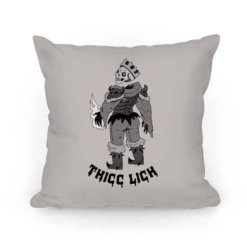 Thicc Lich Pillow