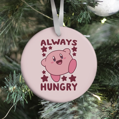 Always Hungry - Kirby Ornament