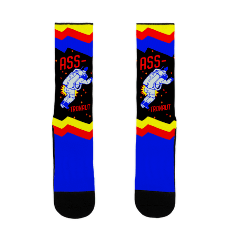 Ass-tronaut Sock