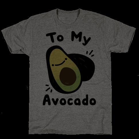 (You're The Toast) To My Avocado White Print