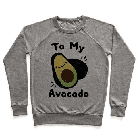 (You're The Toast) To My Avocado White Print Pullover