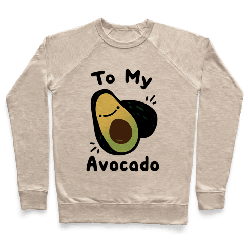 (You're The Toast) To My Avocado White Print