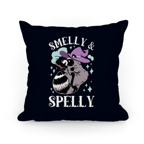 Smelly And Spelly Pillow