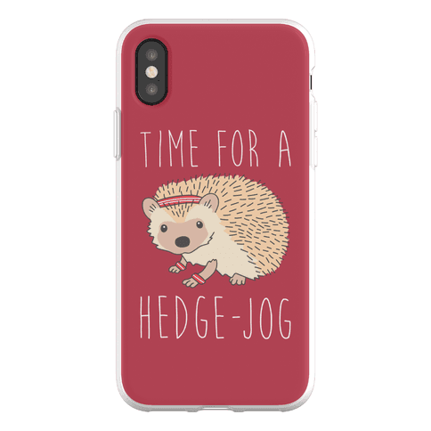Time For A Hedge Jog Phone Flexi-Case