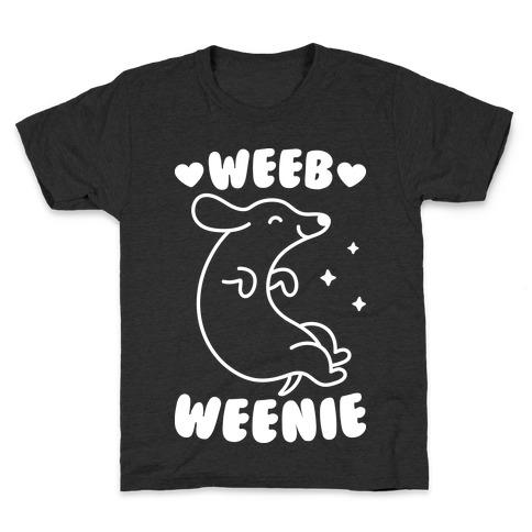 Weeb Weenie Dachshund Kids T-Shirt