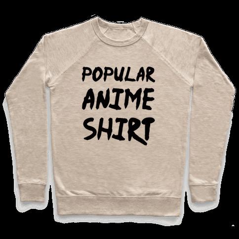 Popular Anime Shirt Pullover