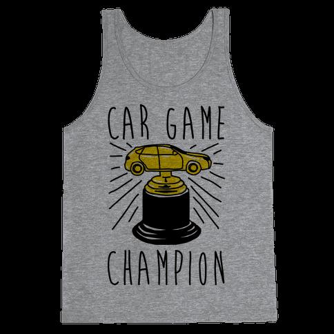 Car Game Champion  Tank Top
