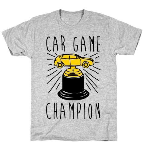 Car Game Champion T-Shirt