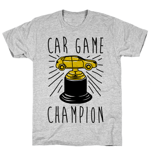 Car Game Champion  Mens T-Shirt