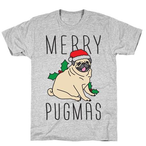 Merry Pugmas T-Shirt