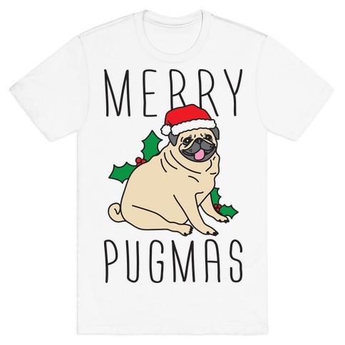 b64875a4 Dog Funny Christmas T Shirts T-Shirts | LookHUMAN