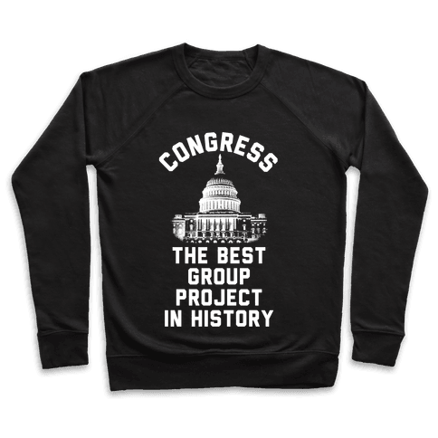Congress Best Group Project In History Pullover
