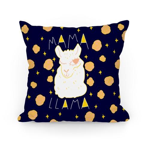 Mama Llama Pillow