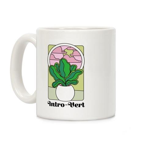 Intro-Vert  Coffee Mug