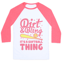 Dirt & Bling It's A Softball Thing