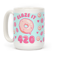 Glaze It 420 Donut Mug