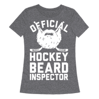 Official Hockey Beard Inspector