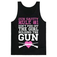 Gun Safety Rule #1 Tank