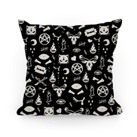 Cute Occult Pattern Pillow