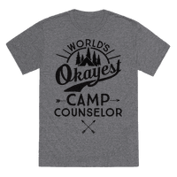 World's Okayest Camp Counselor Tee