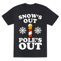 Snow's Out Poles Out
