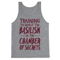 Training to Defeat the Basilisk in the Chamber of Secrets Tank