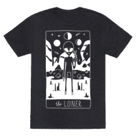 The Loner Tarot Card