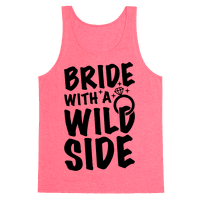 Bride With A Wild Side Tank