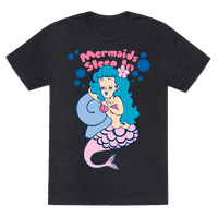 Mermaids Sleep In