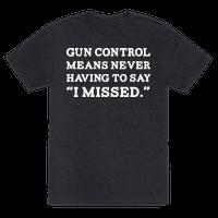 What Gun Control Is