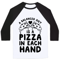 A Balanced Diet Is a Pizza In Each Hand