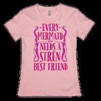 Every Mermaid Needs A Siren Best Friend