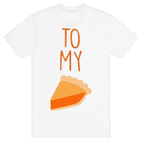 Pumpkin Pie (Whipped Cream & Pumpkin Pie Couples Shirt)