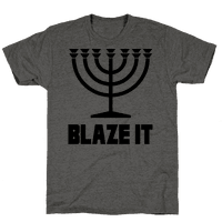 Blaze It Menorah