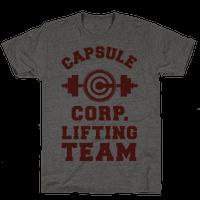 Capsule Corp. Lifting Team