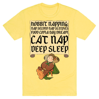 Hobbit Napping Nap Second Nap Sleepies Food Coma Day Dream Cat Nap Deep Sleep