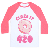Glaze It 420 Donut Baseball