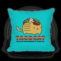 Tacocat Pillow