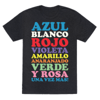 Spanish Color Song