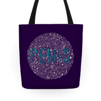 Color Blind Test ( Penis ) Tote Tote