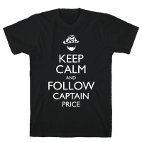 Keep Clam and Follow Captain Price