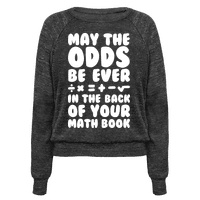 May The Odds Be Ever In The Back Of Your Math Book