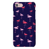 Flamingo Pattern (Navy)