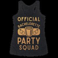 Official Bachelorette Party Squad Racerback